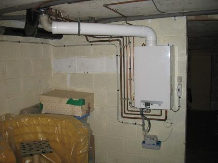 Chauffage pose installation neuve ou renovation for Installation chaudiere gaz murale
